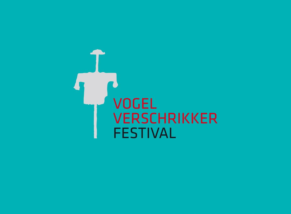 Logo van het Vogelverschrikkerfestival